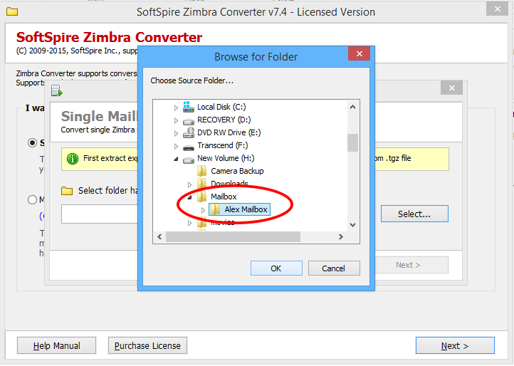 Windows 7 Zimbra to PST Converter 2.0 full